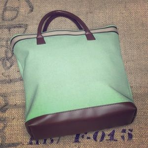🌸#4015 Estée Lauder Mint Tote Bag